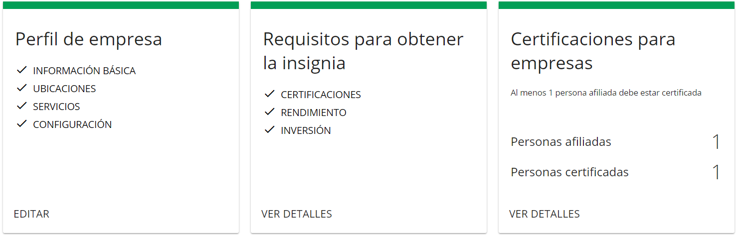 Requisitos Google Partners