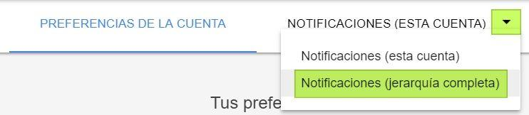 Notificaciones en Google Ads